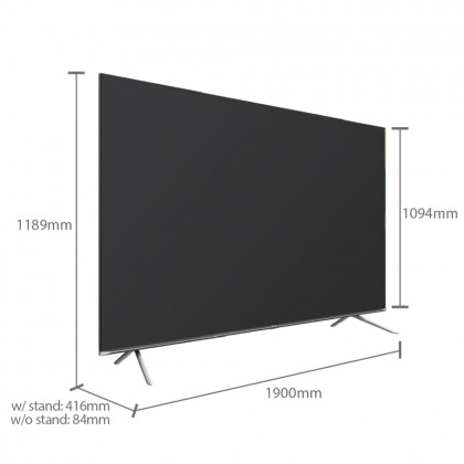 "HISENSE 85A7500F 85"" TV"