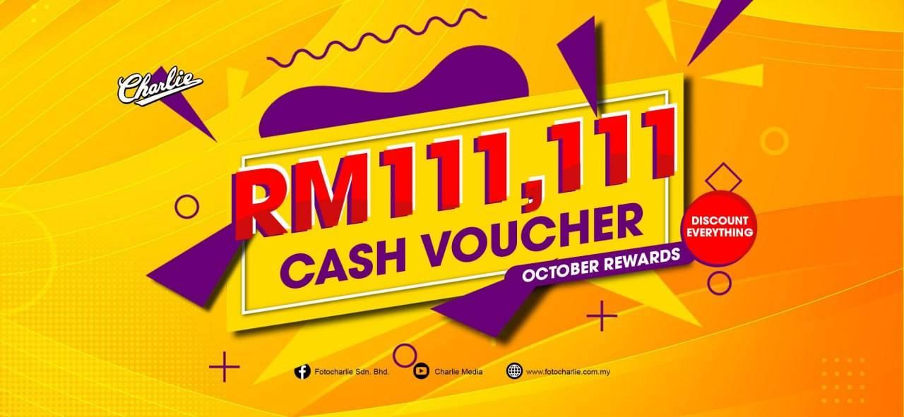 RM111.111 CASH VOUCHER!!